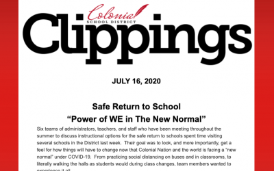 Colonial Clippings – July 16