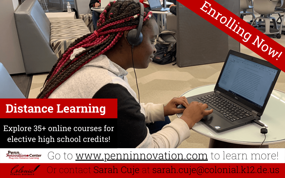Enrolling Distance Learning Courses for 2021-2022 School Year