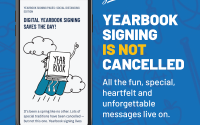 Yearbook Update and FREE Digital Signing Pages 6/3/2020