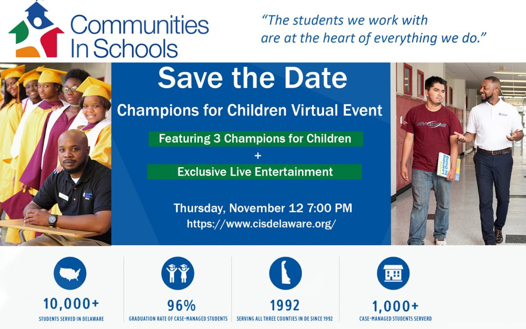 2nd Annual Communities In School Fundraiser Event 11/12
