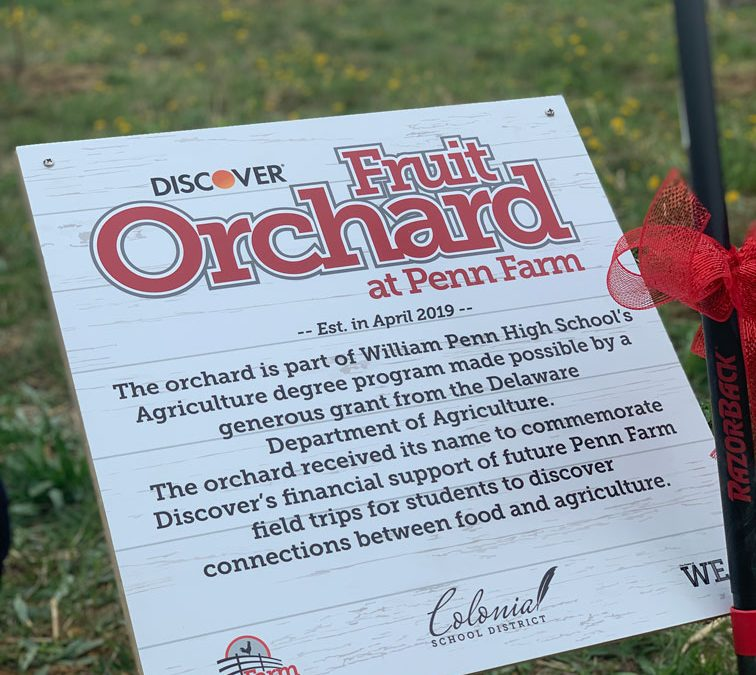 Orchard Dedication and Tree Planting at Penn Farm