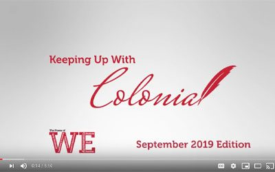 Keeping up with Colonial – September 2019