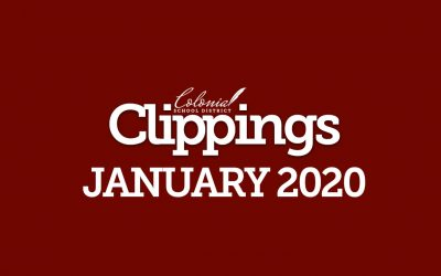 Colonial Clippings – January 2020