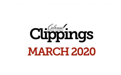Colonial Clippings – Special Edition: 3/25/2020