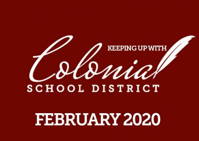 Keeping up with Colonial – February 2020