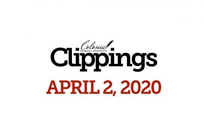 Colonial Clippings – April 2, 2020