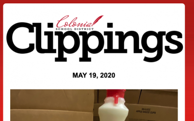 Colonial Clippings: May 19th, 2020
