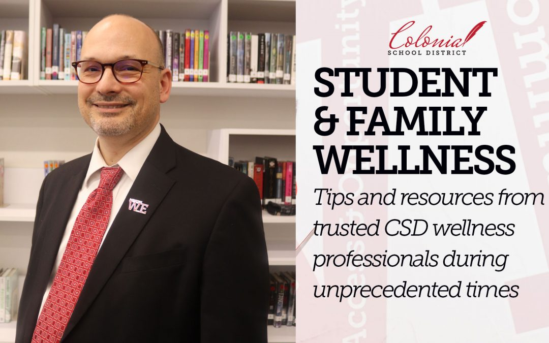 Student & Family Wellness Series: Separating out what you can and cannot control