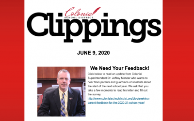 Colonial Clippings: June 9